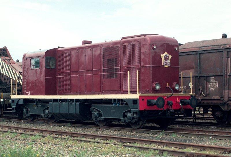 Loc NS 2498 van de Stichting Het Nederlands Spoorwegmuseum (SpM)